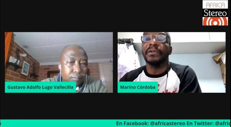 Marino Córdoba habla sonre racismo en África Stereo