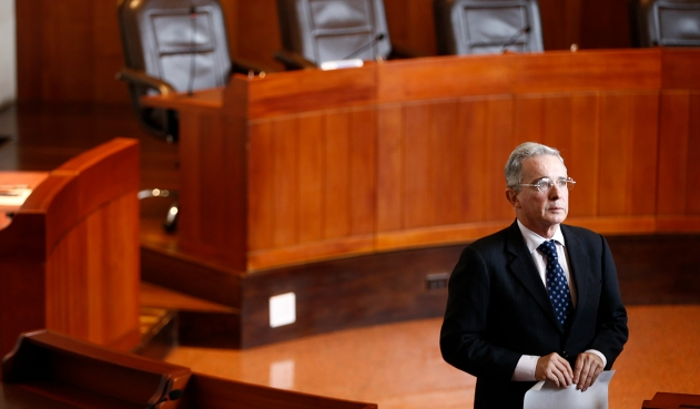 Detención Uribe